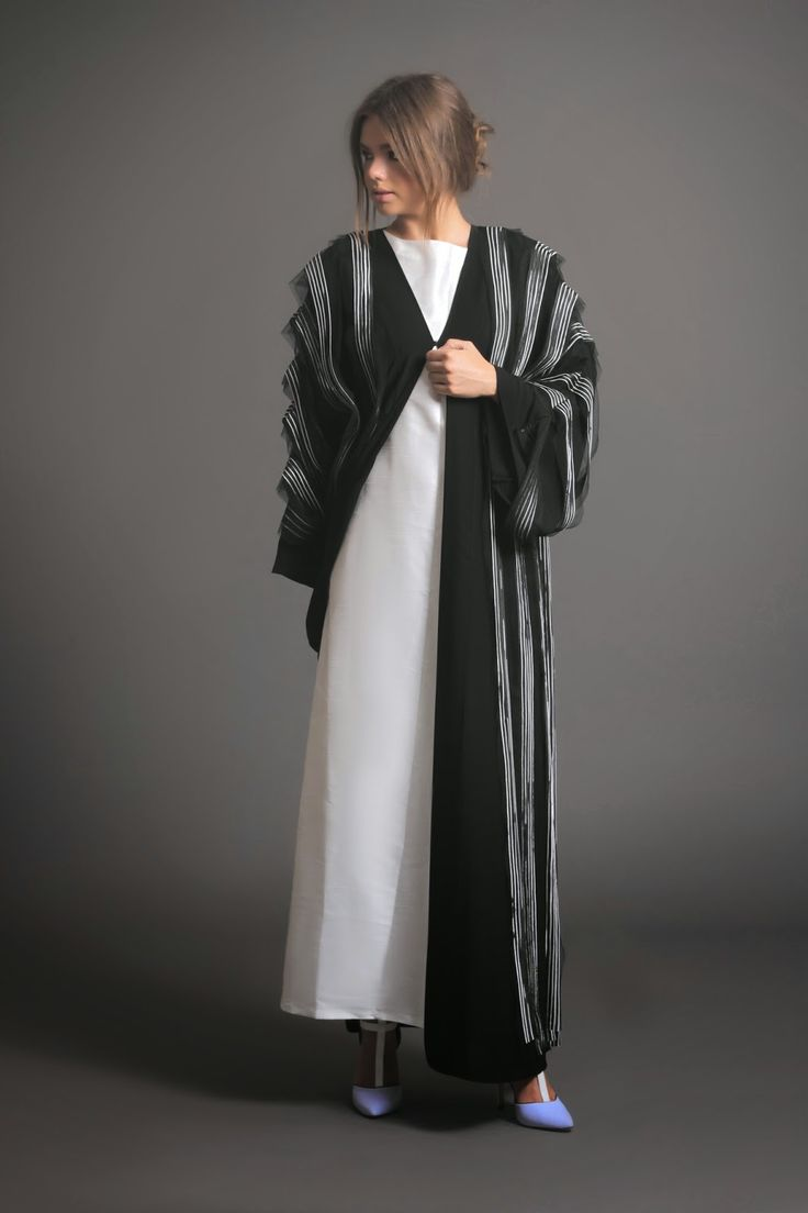 playful tassel abayas by NAFS