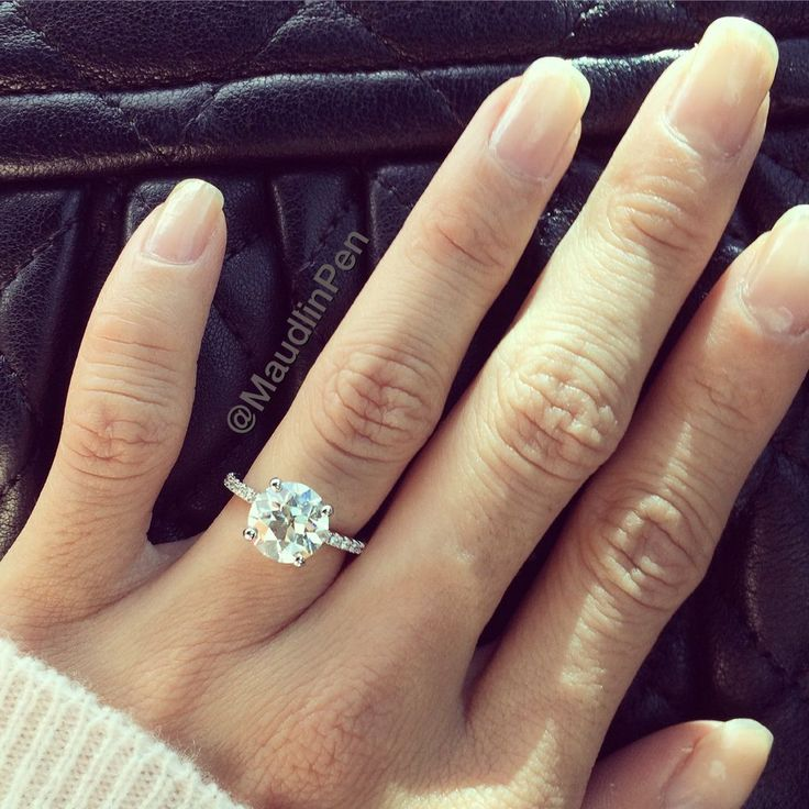 Engagement Rings In Which Hand: MY RING! *sigh* I Had To Post Because I Can't Believe It's