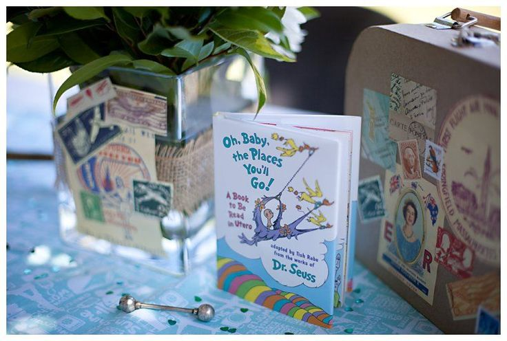 """""""Oh, Baby, the Places You'll Go"""" Travel Baby Shower"""