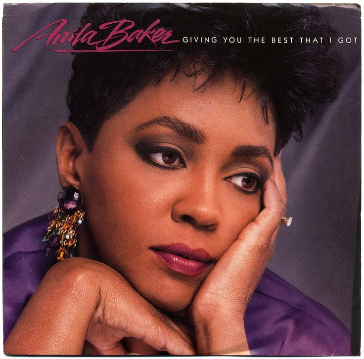 """Anita Baker """"Giving You The Best That I Got"""" (1988) — 45 rpm Record Sleeve"""