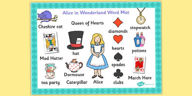 alice in wonderland distinctively visual Transcript of alice in wonderland film analysis alice in wonderland film  study ideas characters setting symbols & motifs what are the.
