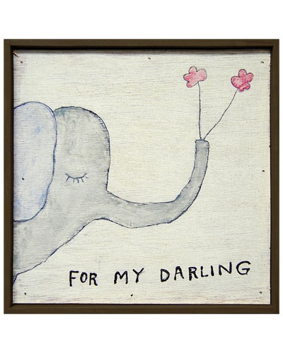 "Don't have a ""darling"" but this is cute!Sugarboodesign Ruelala"