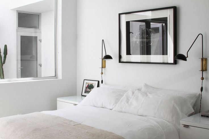 5 Ways to Declutter:  Conquer Clutter Before It Conquers You: House Tours, Wall Lamps, Loft Houses, Apartment Therapy, Abbot Kinney, Wall Sconces, Bedside Lamps, Houses Tours, Kinney Loft
