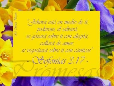 Sofonías 3:17: Sólo una de las miles promesas que podemos encontrar en nuestro Redentor