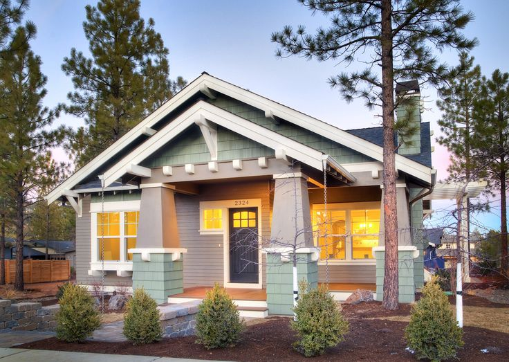 Cottage Style Homes cottage style craftsman – typically a one-story building with a