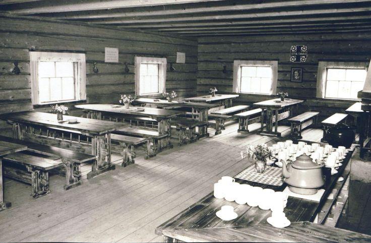 Lottakanttiini Helkapirtti / Viihtyisin Lottakanttiini kilpailun kuvasatoa vuodelta 1944.     #lottamuseo#lottasvärd#lottakanttiini