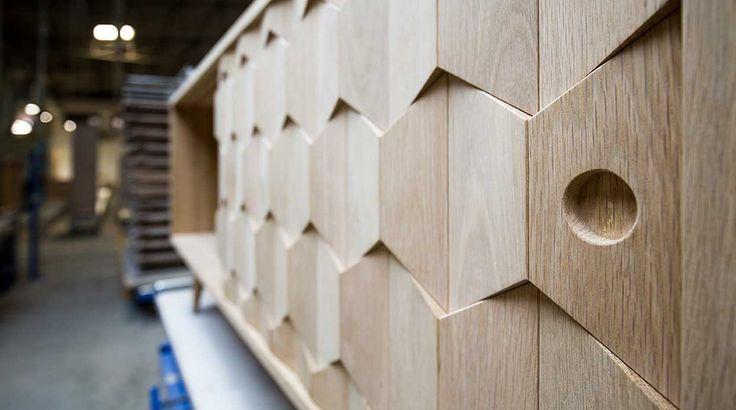 Wewood Scarpa dideboard beautiful wood details. what do you think? #scarpa #sideboard #wood #details #solidoak #wewood