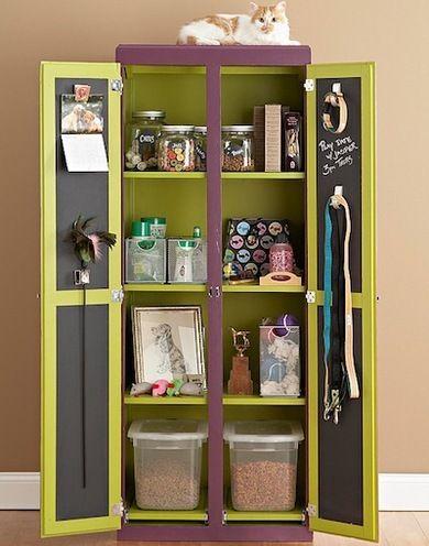 Hutch Top Repurposed Shelves