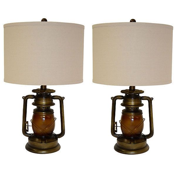 Awesome Vintage Style Iron Lantern Lamp,Set of Two, 16'' x '28''H. #Handmade #Mediterranean