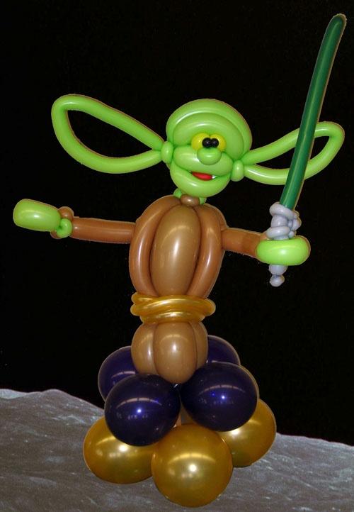 Yoda Twist Balloon