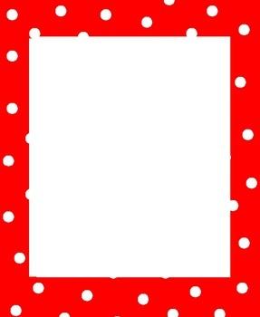 free dot border