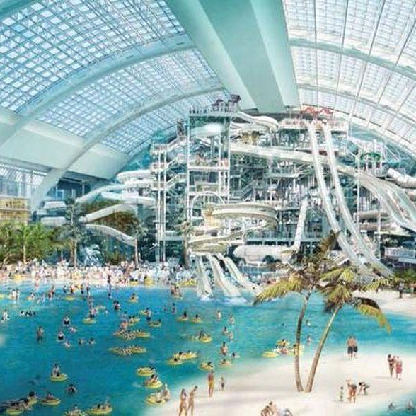 The new Mall of America being constructed in Miami.. #pin #miami