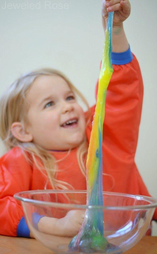 A NEW and Safe Way to Make Slime for Kids {Edible & borax free}