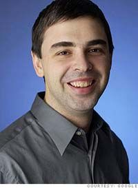 Larry Page, founder of Google ~ Lansing, Michigan - March 26, 1973