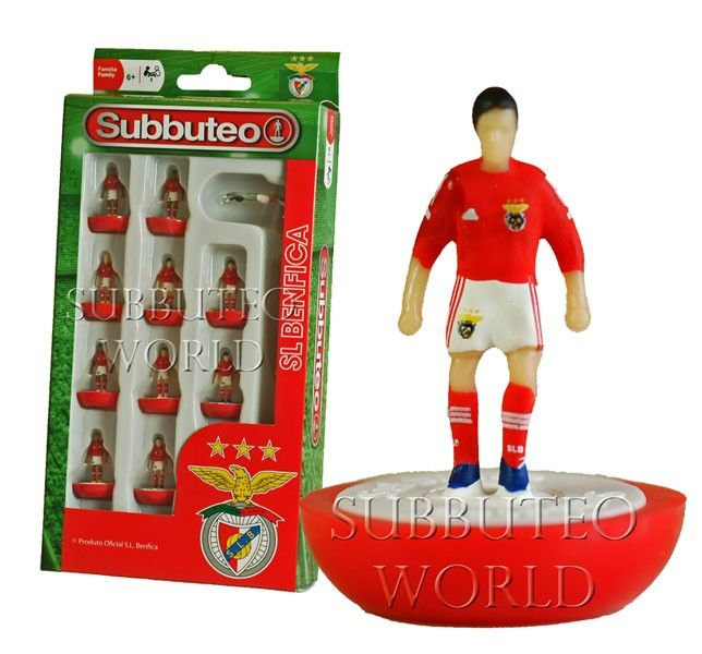 BENFICA 1ST NEW FOR 2015. NEW PAUL LAMOND OFFICIAL LICENSED SUBBUTEO TEAM.