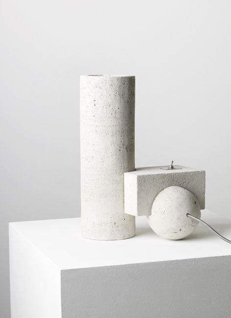 Faye Toogood | Element Lamp | Stone