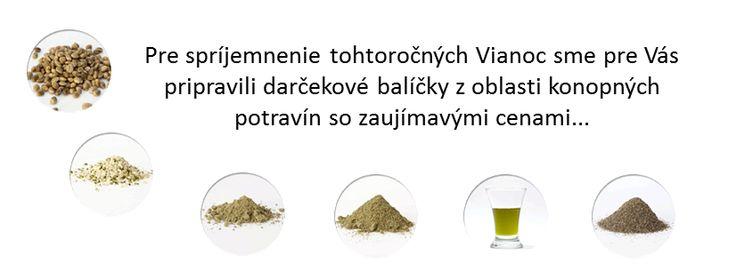 produkty z konope - potravinové balíčky