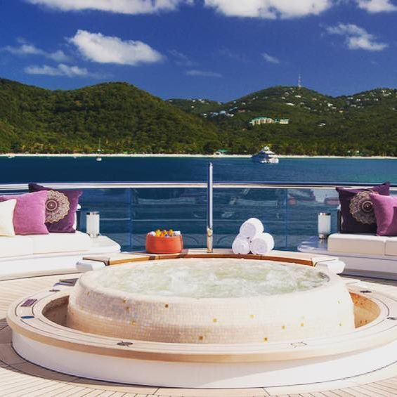 M/Y Solandge - Spa Pool at top deck⠀⠀ Photo by Klaus Jordan⠀⠀ ⠀⠀ ⠀⠀⠀ ⠀⠀⠀ #yachtlife #megayacht #superyacht #megayacht #helicopter #amazing #beautiful #billionaire #wealth #luxury #yacht #summer #sea #sun #design #thegoodlife #travel #bestoftheday #style #picoftheday #followme #instagood #fashionph #fashionmen #bestsnaps #millionairemindset #millionairelifestyle #top #mensstyle