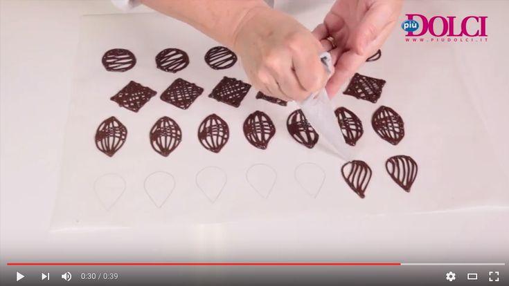 Decori di cioccolato