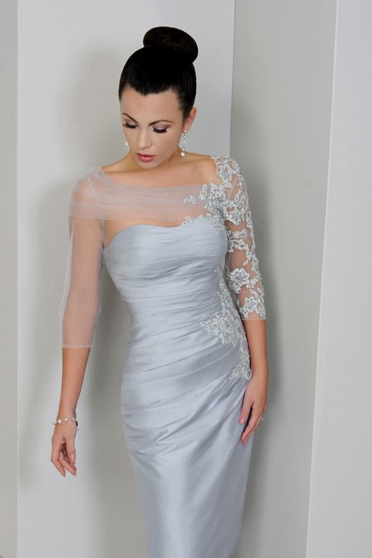 estelles mother of the bride dresses | IR1275-Platinum