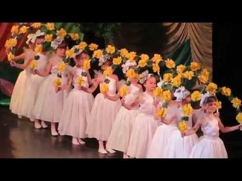 очень красивый танец цветов - YouTube