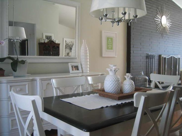 Charming Kitchen Table Centerpiece Ideas For Everyday 1 Dining Decor Modern
