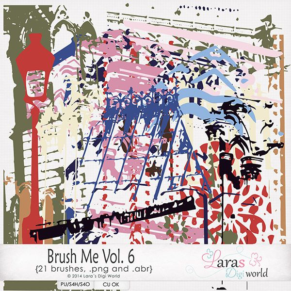 Brush Me Vol. 6 by Laras Digi World