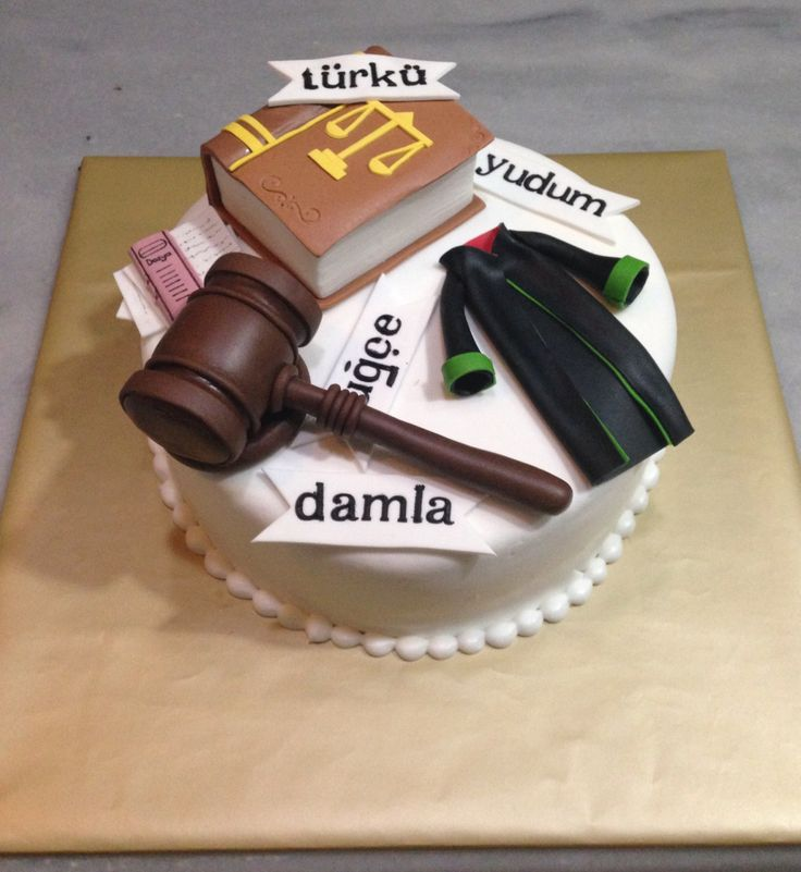 Birthday Cake Ideas For Lawyers
