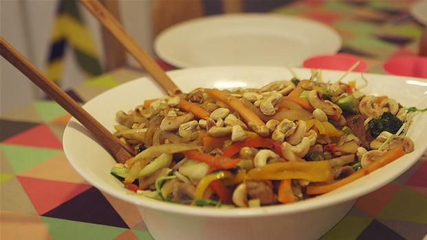 Weekend wok
