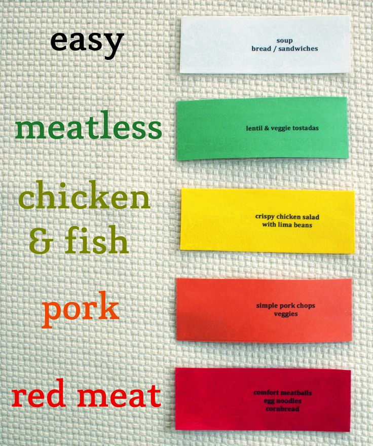The Menu Planner to Rule Them All via The Thinking Closet