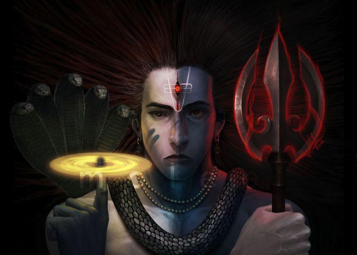 Hari-Hara by molee.deviantart.com on @deviantART