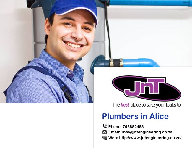 JNT Engineering is #plumbing #company in Alice. We promise to provide a plumber of the very best high-quality at the nice fees in Alice. See more detail here-http://jntengineering.Co.Za/.