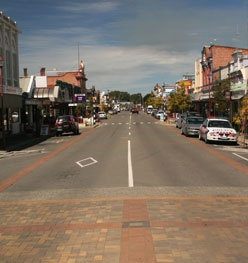 Main Street of Temuka - Vicky O'Connor