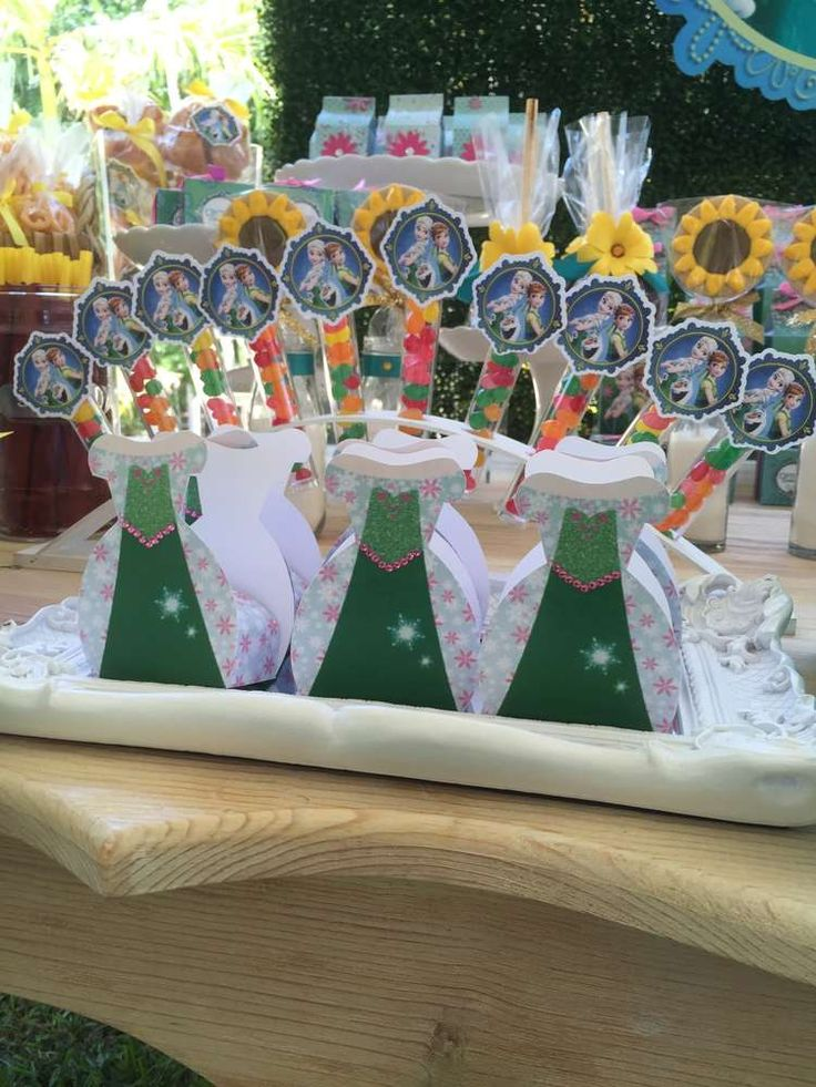 Frozen Fever Birthday Party Ideas   Photo 2 of 11   Catch My Party