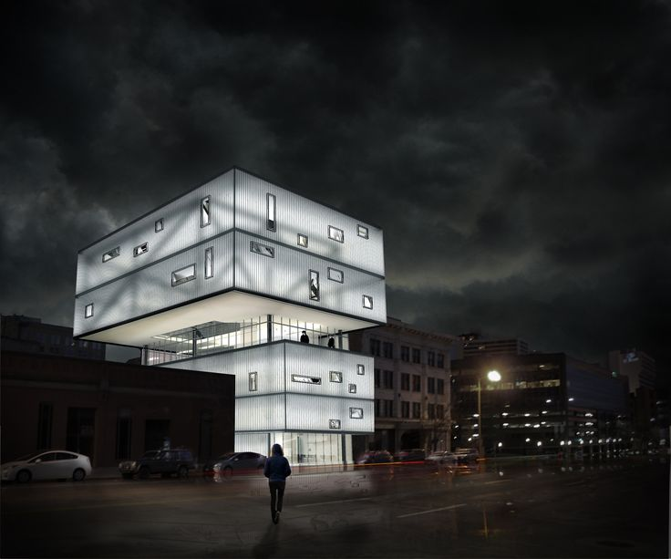 1000 Images About Night Exterior Render Image On Pinterest 3d Visualization Renzo