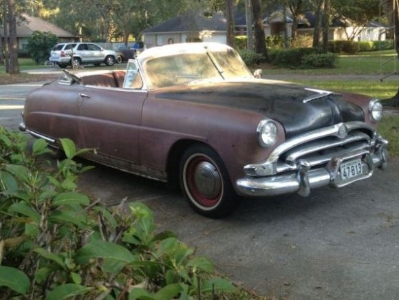 1953 Hudson Hornet Convertible Never Really Thought