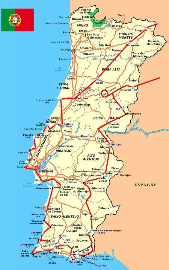 Circuit #Portugal #campingcar #campingcarpark www.campingcarpark.com