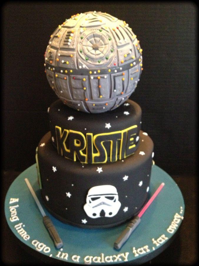 Star Wars Deathstar Cake.