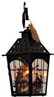 Flameless battery operated candle lanterns...I like.