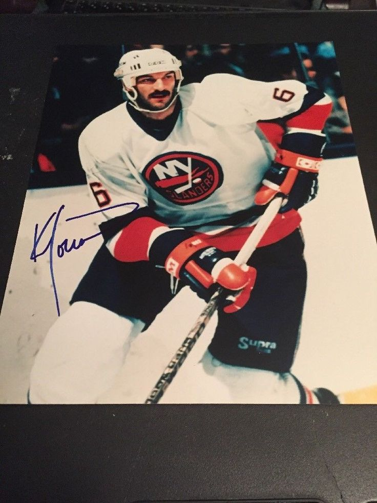 Ken Morrow New York Islanders Autographed Signed Photo USA Hockey
