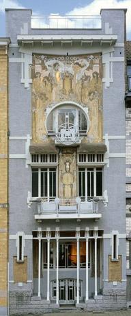 Maison Cauchie Bruxelles.