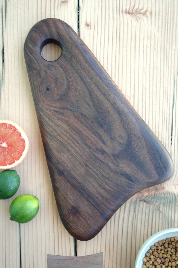 wooden triangular serving board or cuttin board #servingboards
