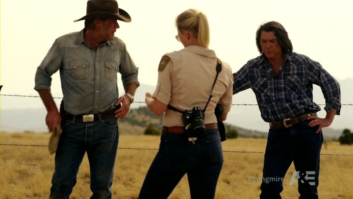 longmire and vic relationship
