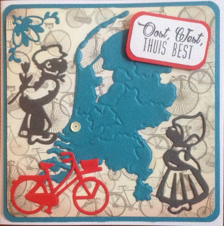 """Nederlandse fiets """"Oost west thuis best"""" naar Tsjechië"""