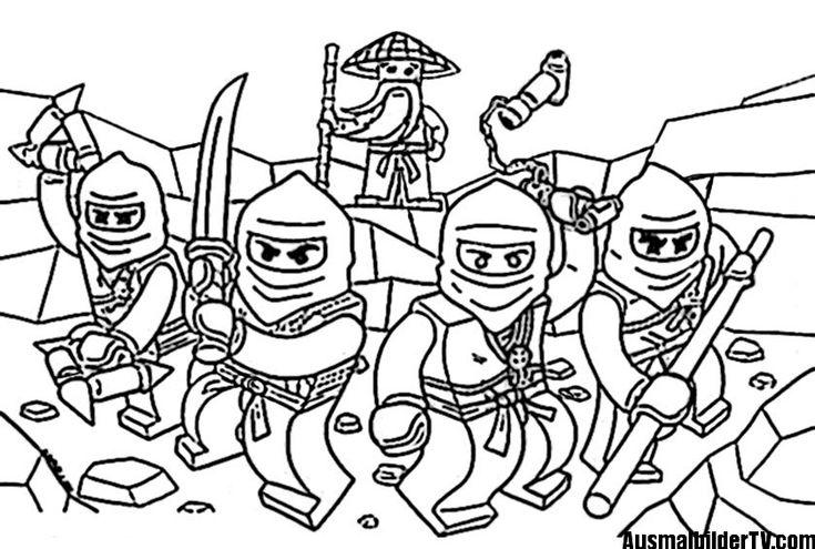 ninjago ausmalbilder zum ausdrucken | ausmalbilder