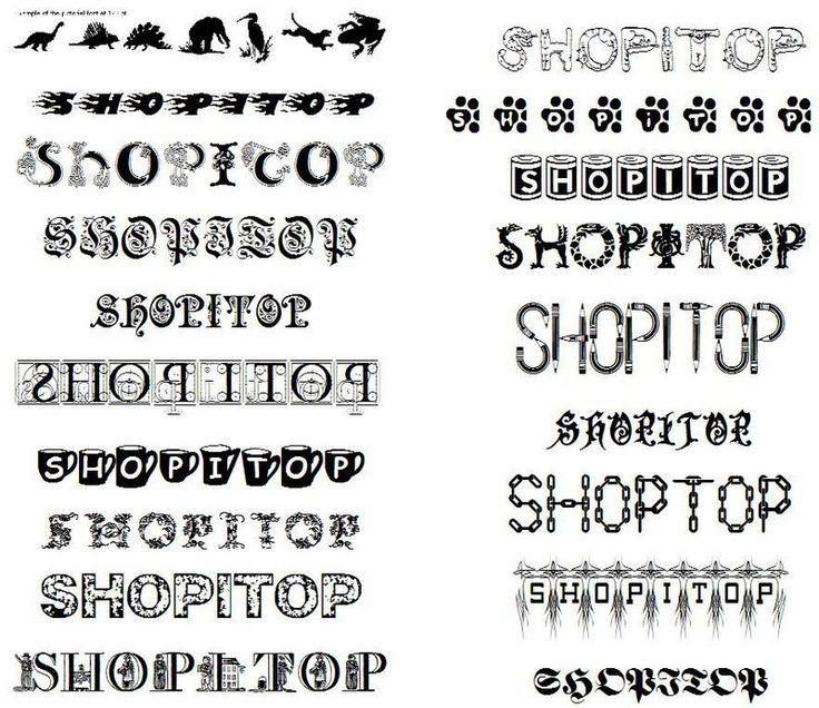 Tattoo Lettering | Design A Tattoo: Tattoo Fonts Style