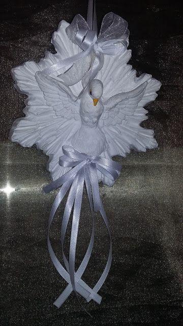 Artes Minas Gerais: Resplendor com Pombinha do Divino Espírito Santo