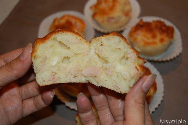 Muffin al prosciutto