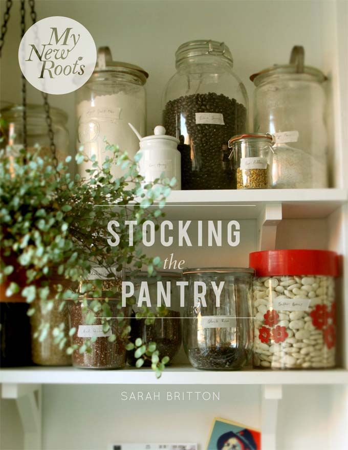 stocking the pantry - watch for this to be published!