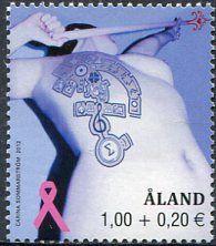 Francobolli - Lotta contro il cancro - Fight against cancer Aòand 2012